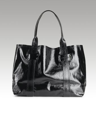 Stephane Verdino Patent Eastwest Tote - Lyst