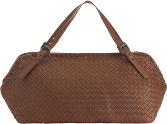 Bottega Veneta Intrecciato Boca Shoulder Bag - Lyst