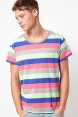 Cheap Monday Alex Stripe Tshirt - Lyst