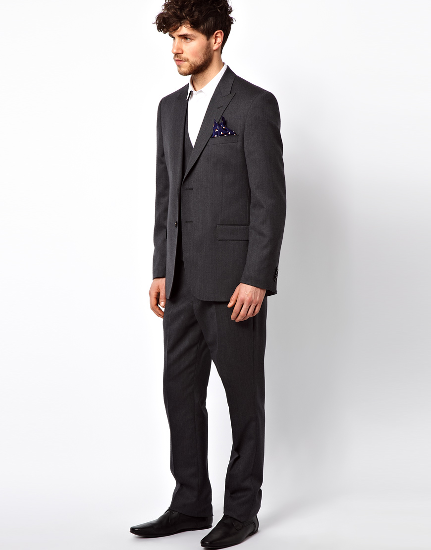 Lyst French Connection Suit Trouser Whistler Stretch In