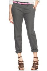 Gap Broken In Straight Linen Pants - Lyst