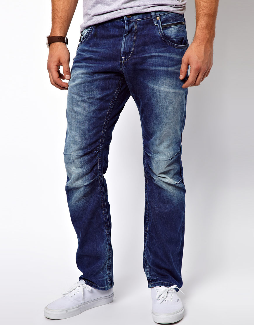 Cheap monday Jack Jones Boxy Loose Fit Jeans in Blue for Men | Lyst