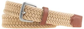 J.Crew Braided Cotton Belt - Lyst