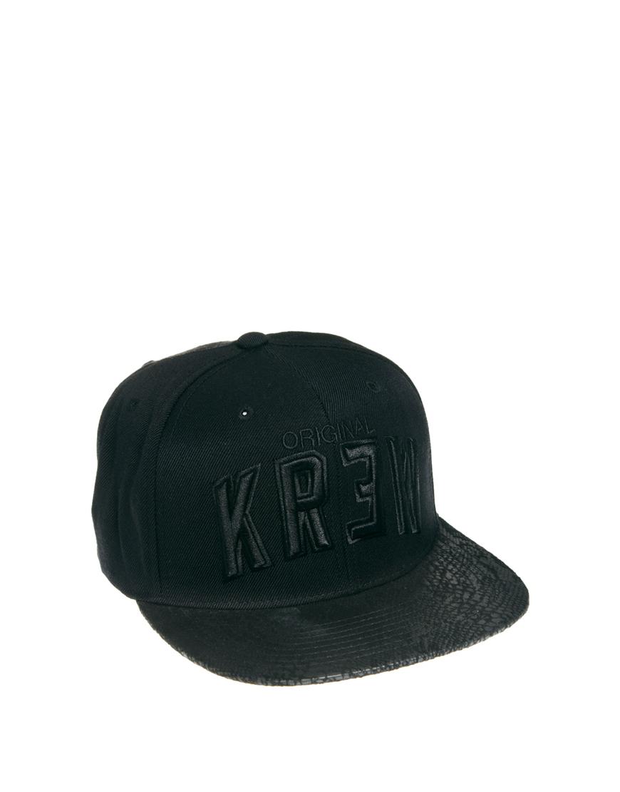 d478da696c8 Lyst - KR3W Starter Snapback Cap in Black for Men