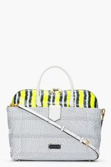 Marc By Marc Jacobs White Leather Whitney Double Trouble Anemone Bag