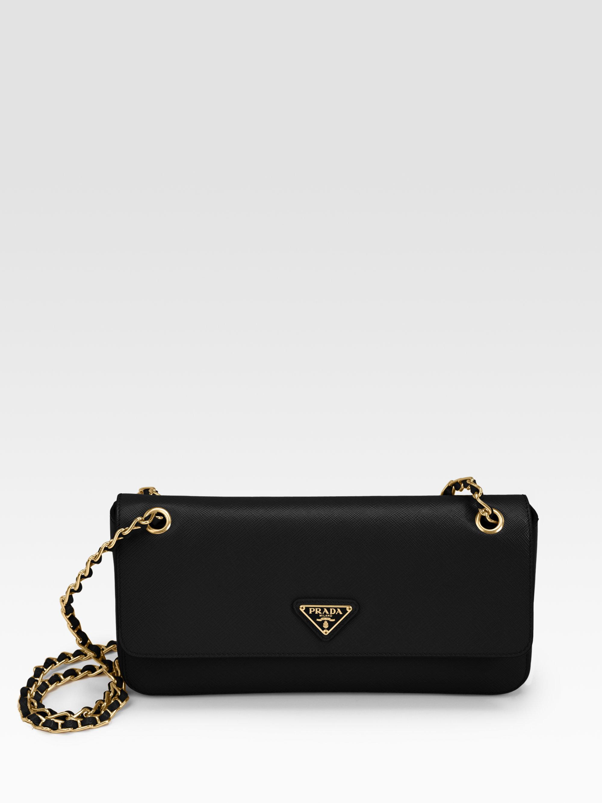 prad bags - prada black saffiano leather small box bag