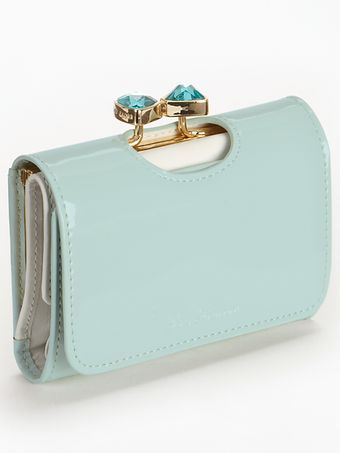 Ted Baker Bow Crystal Top Small Purse - Lyst