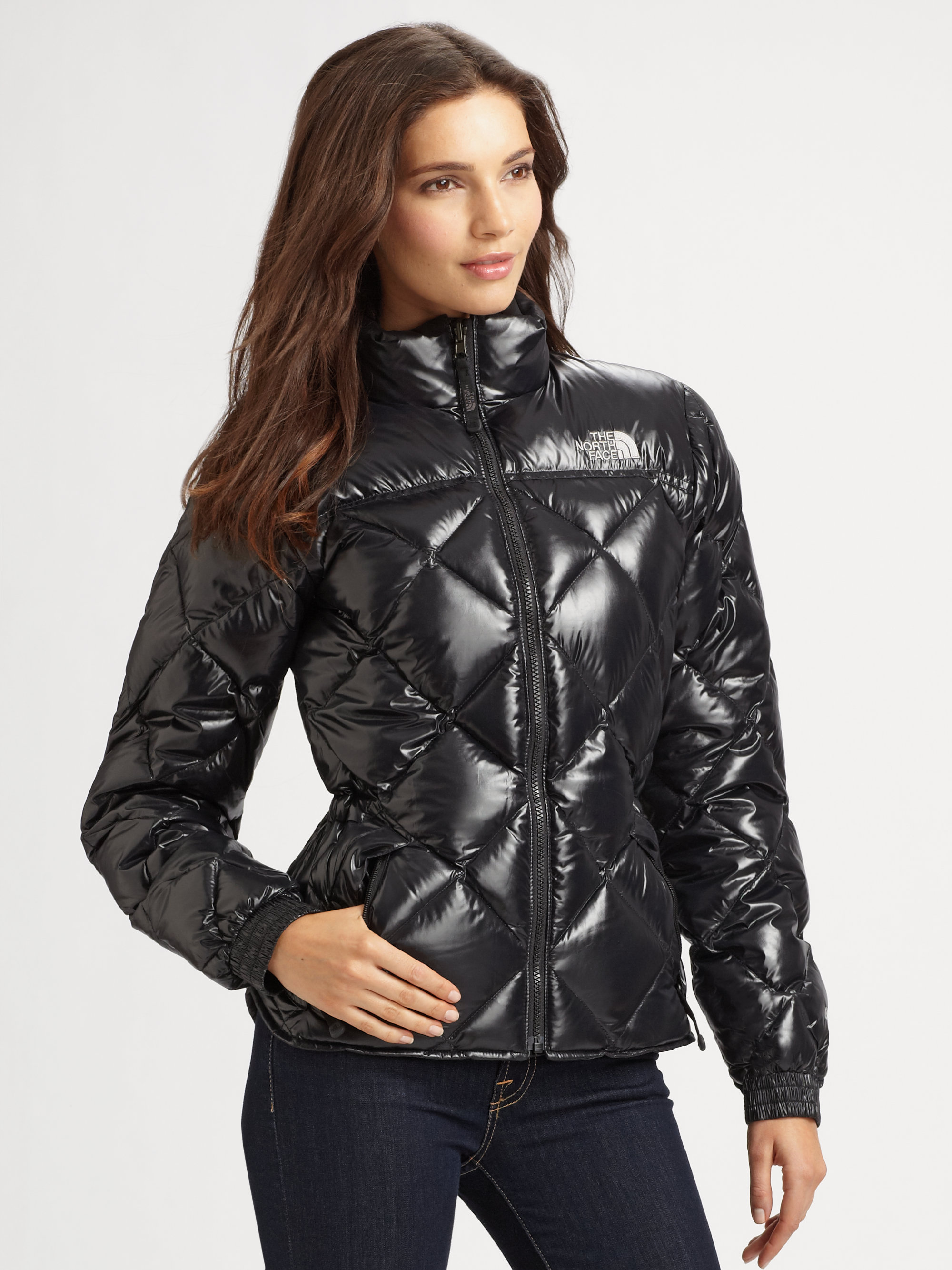 Lyst - The north face Quilted Puffer Jacket in Black