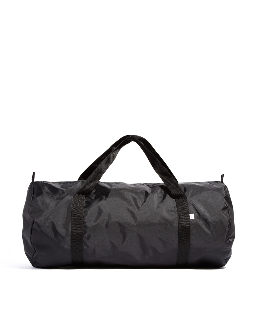 American apparel Nylon Weekend Bag in Black | Lyst