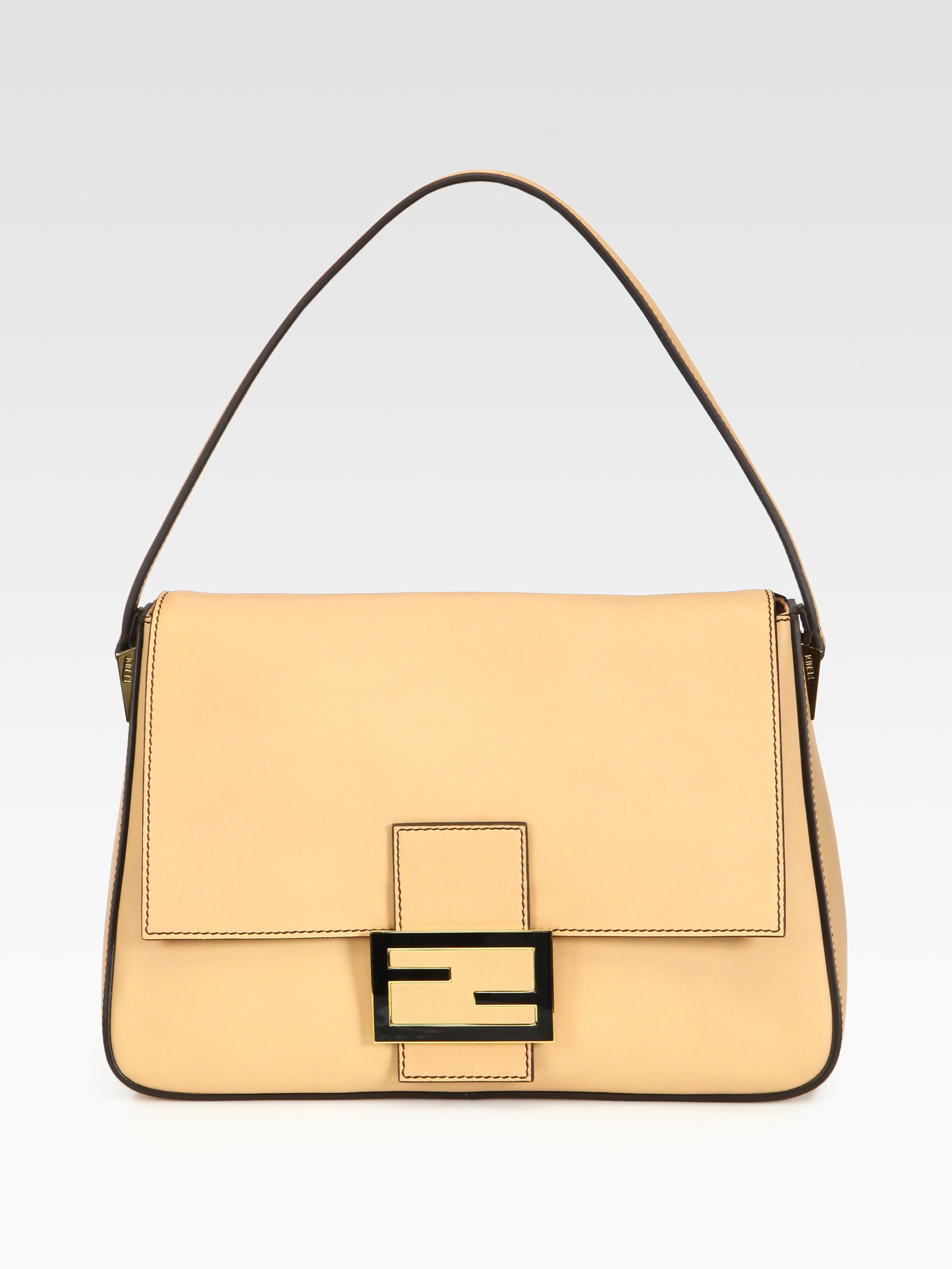 dcf367fdd11f Lyst - Fendi Forever Mama Bag in Natural