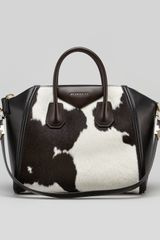 Givenchy Antigona Medium Cowprint Calf Hair Satchel - Lyst