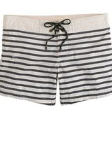 J.Crew Surf Stripe Board Shorts