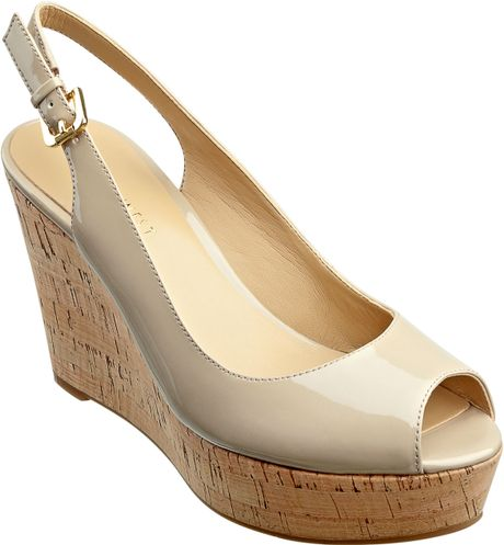 Nine West Chabon in Beige (taupe synthetic) - Lyst