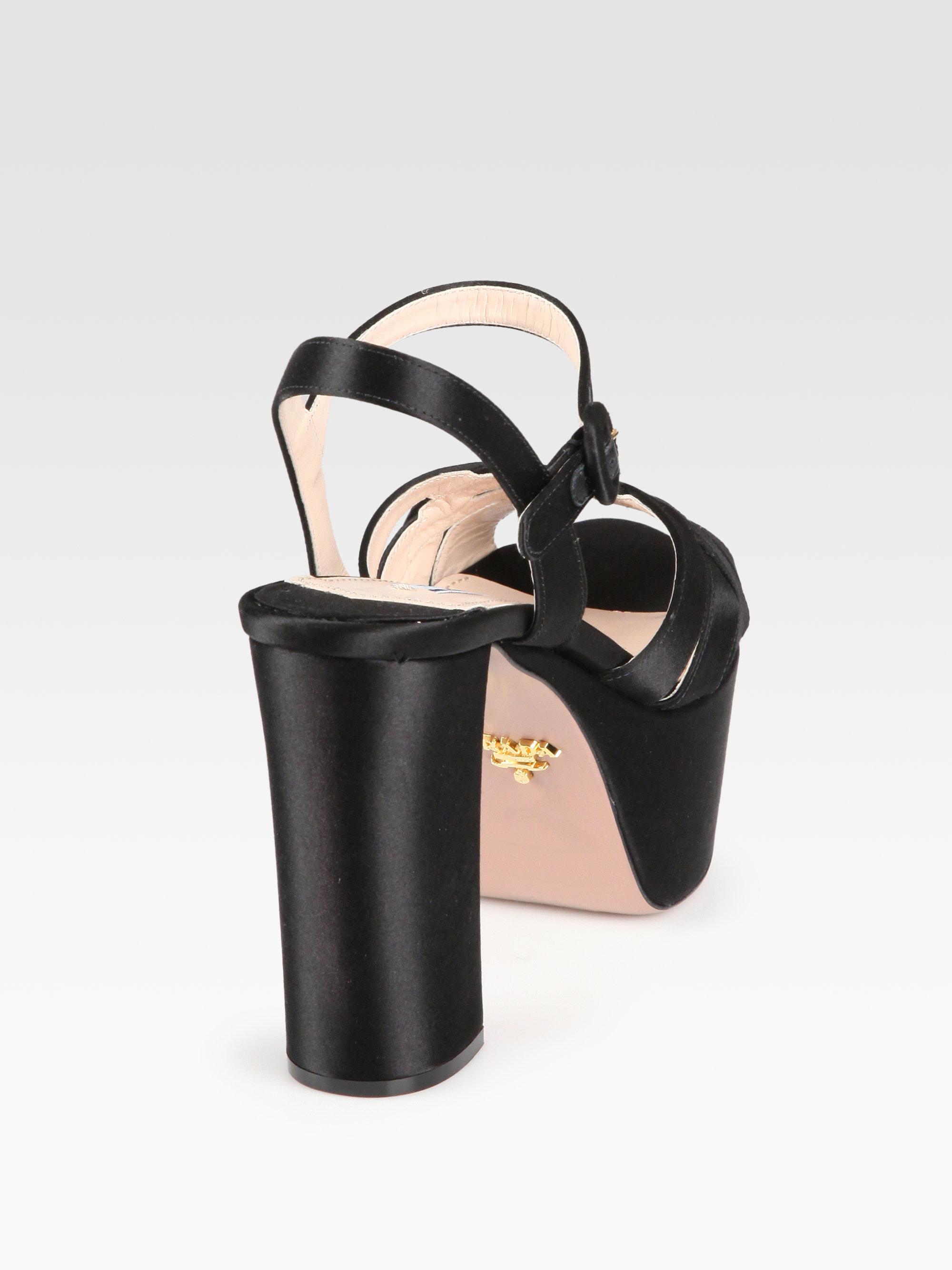 Prada Banana Platform Sandals yhQNB8
