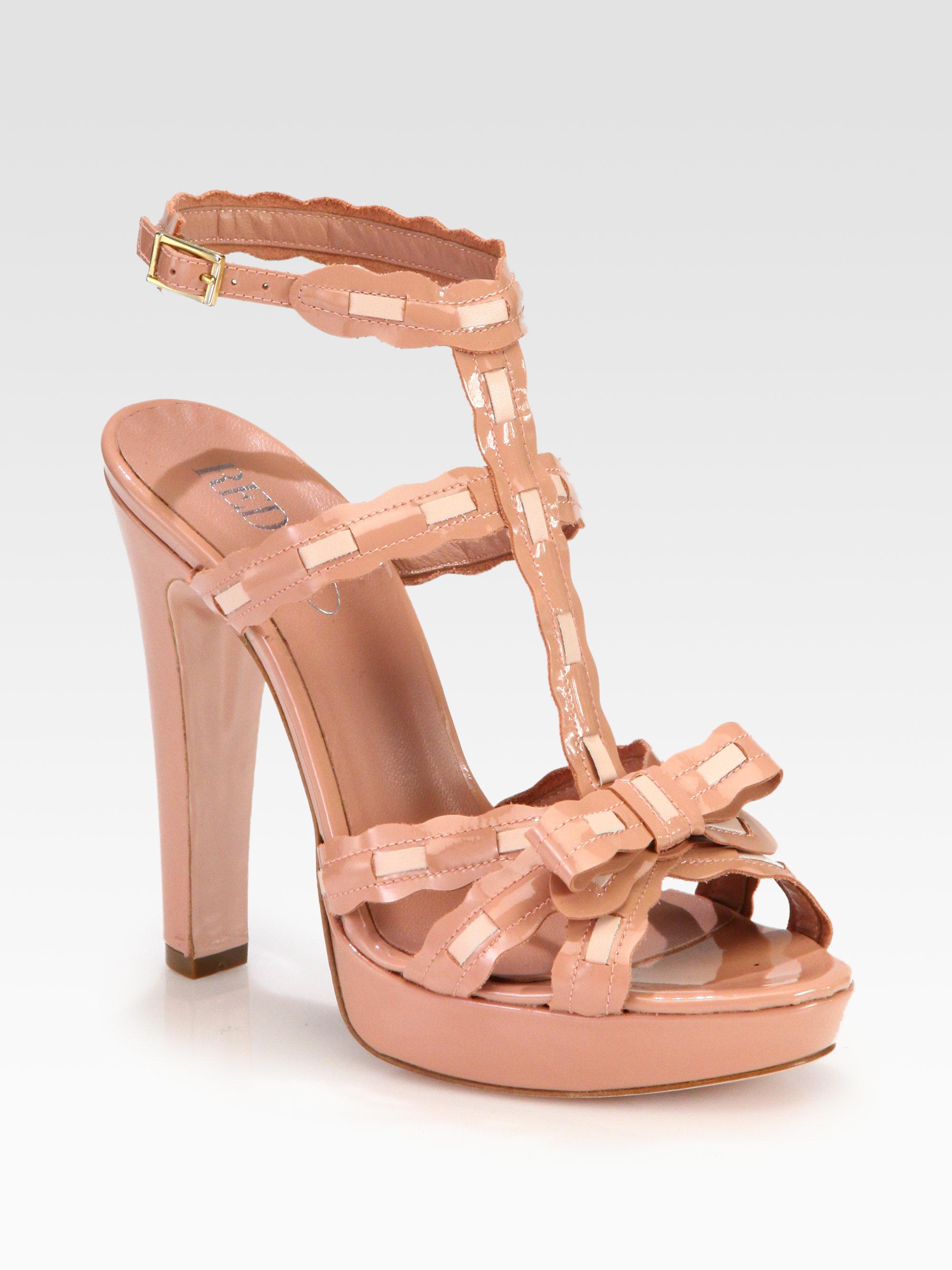 buy cheap shop sale best Red Valentino platform sandals for nice cheap online x1aF3