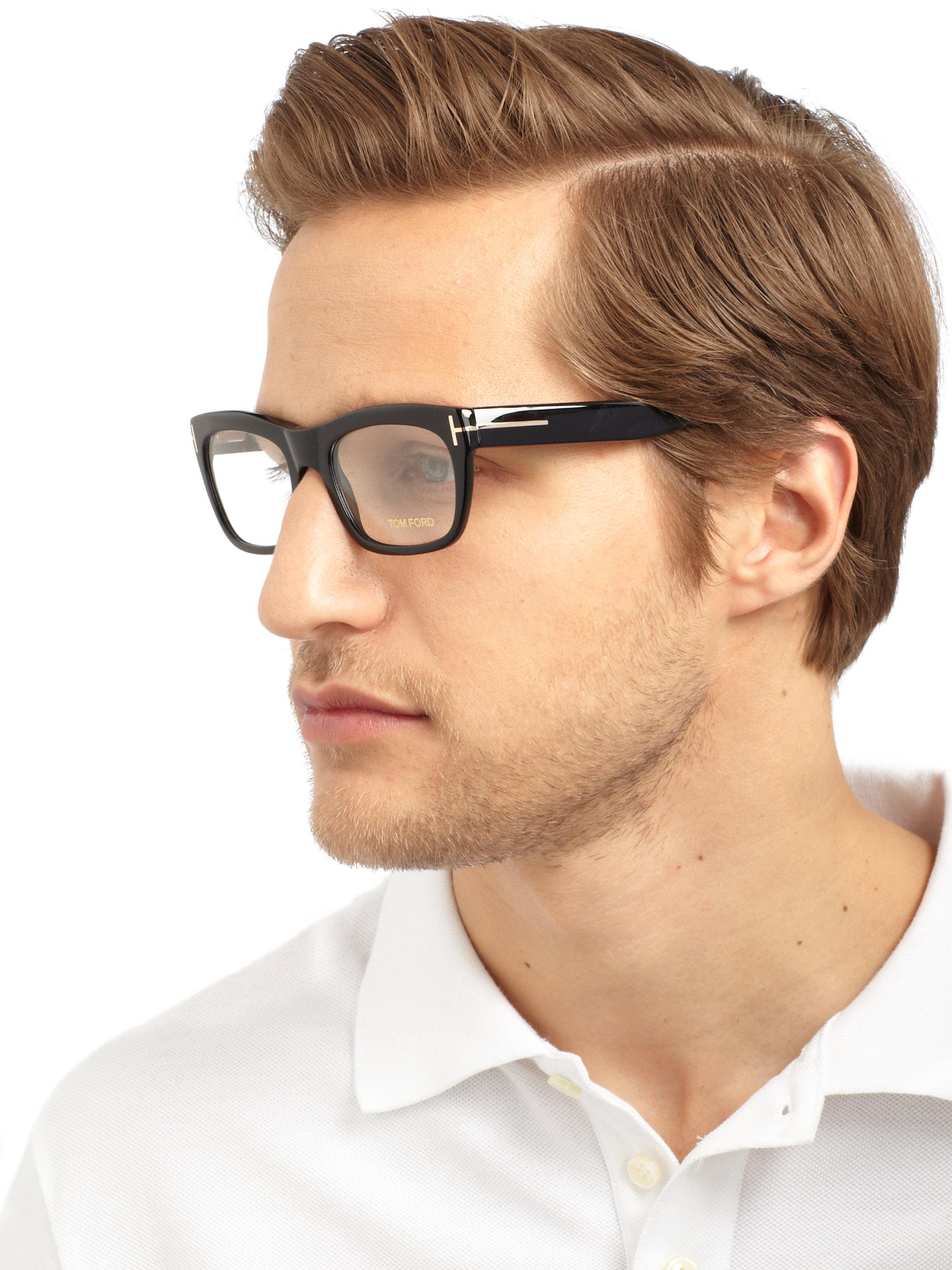 Lyst - Tom Ford Shiny Optical Frames in Black for Men