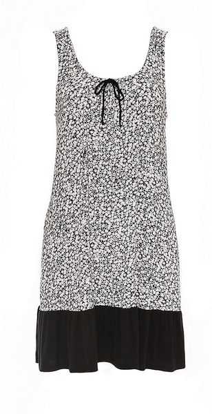 DKNY Garden Ditsy Printed Sleep Dress - Lyst
