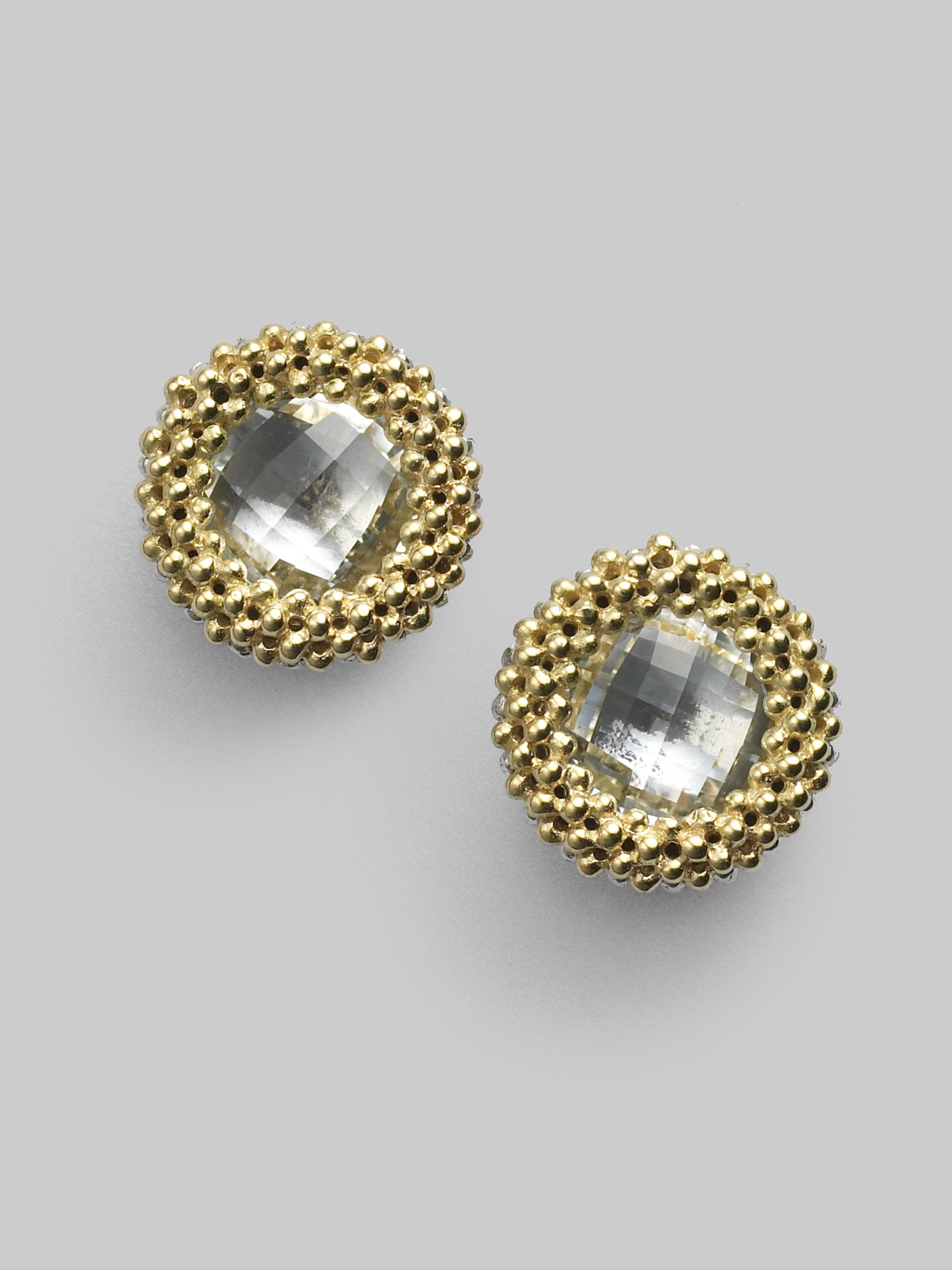 gemstone earrings diamond gold stud en online jewellery
