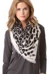 Marc By Marc Jacobs Jaguar Scarf - Lyst