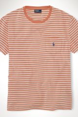 Polo Ralph Lauren Striped Pocket T-shirt - Lyst