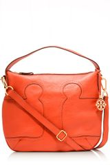 Tory Burch Amalie Adjustable Hobo - Lyst