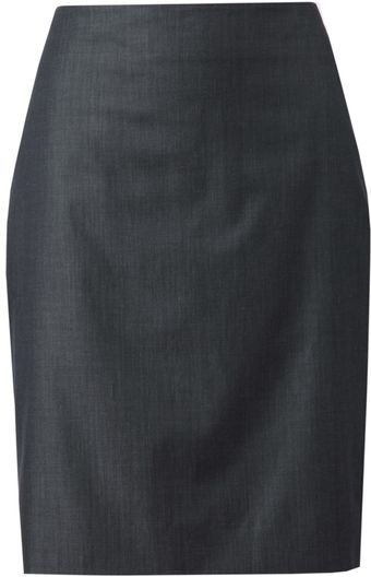 Akris Cotton Pencil Skirt - Lyst