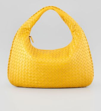 Bottega Veneta Intrecciato Medium Hobo Bag - Lyst