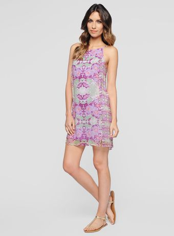 Ella Moss Floral Lei Dress - Lyst