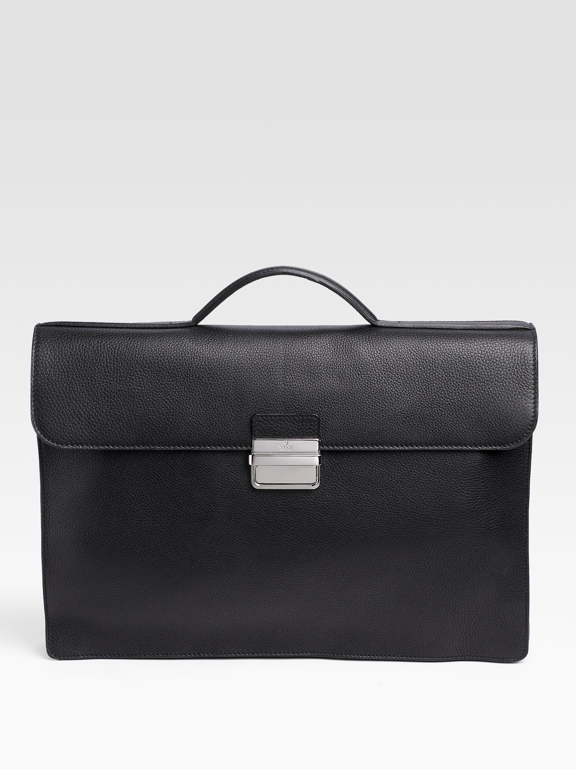07ef6862e63d Lyst - Gucci Leather Portfolio in Black for Men