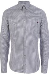 Gucci Gingham Check Shirt - Lyst