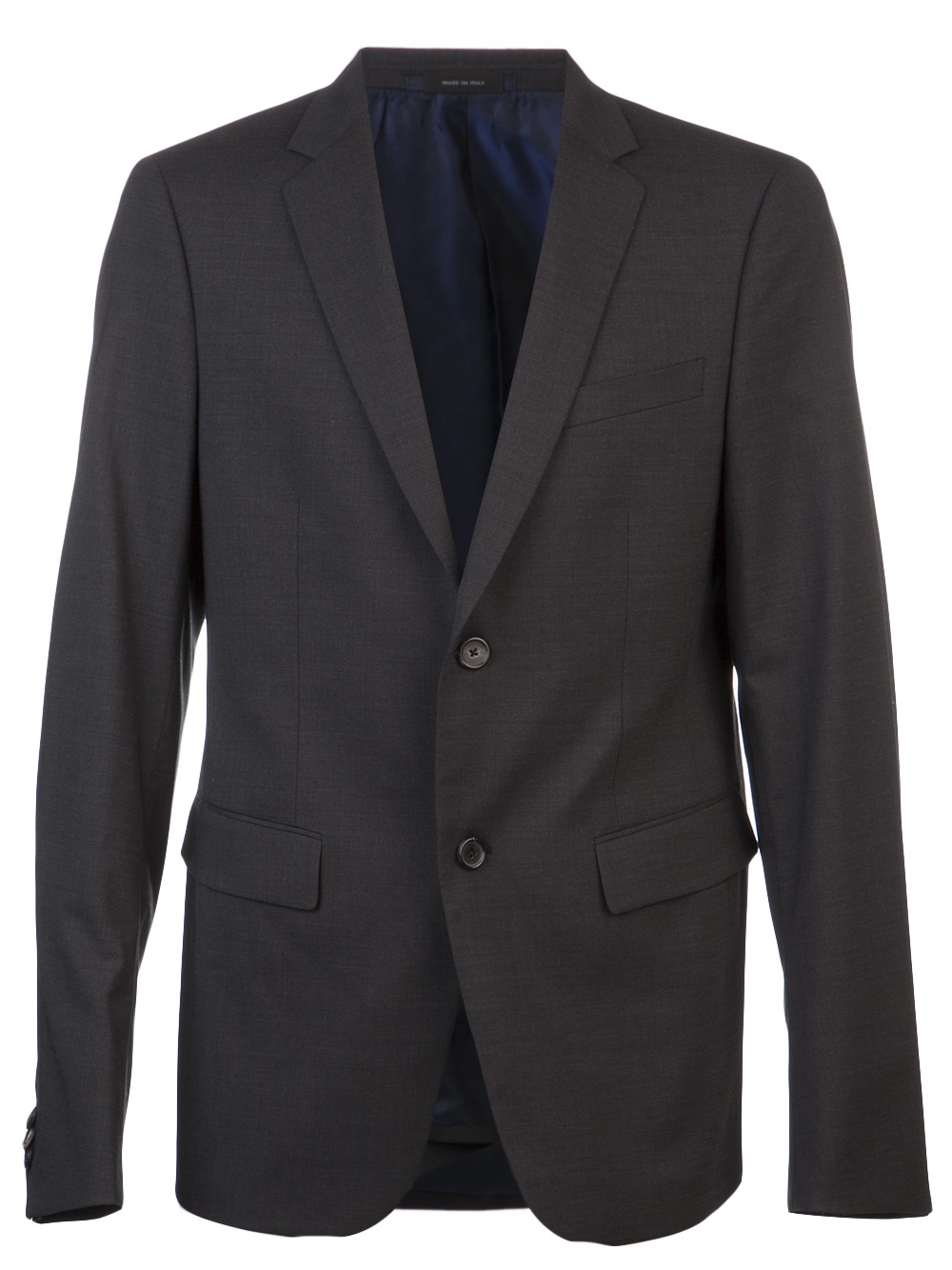 jil sander drop suit in gray for men slate lyst. Black Bedroom Furniture Sets. Home Design Ideas