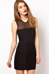 Markus Lupfer Irina Bodycon Dress - Lyst