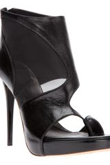 McQ by Alexander McQueen Cutout Stiletto Pump - Lyst