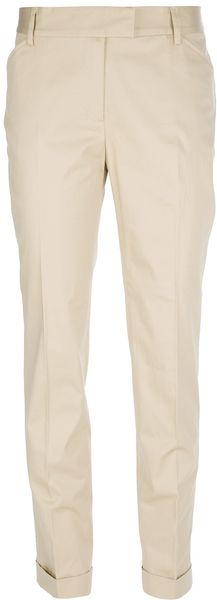 Moschino Cheap & Chic Classic Chinos - Lyst