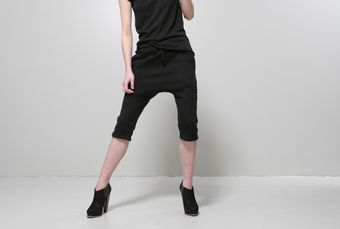 Oak Karate Sweatshort Black - Lyst