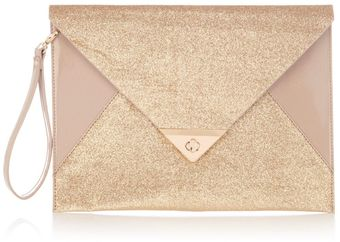 Oasis Envelope Clutch - Lyst
