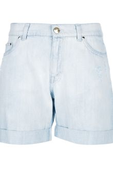 Pierre Balmain Denim Short - Lyst