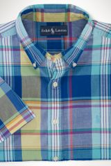 Big & Tall Classic-fit Plaid Sport Shirt - Lyst