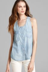 Rag & Bone Tank Trail - Lyst