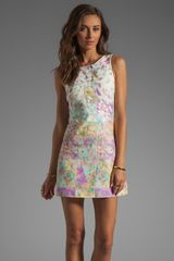 Tibi Velocity Dress in Pastel Multi - Lyst