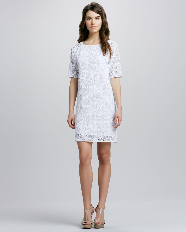 Long White Shift Dresses