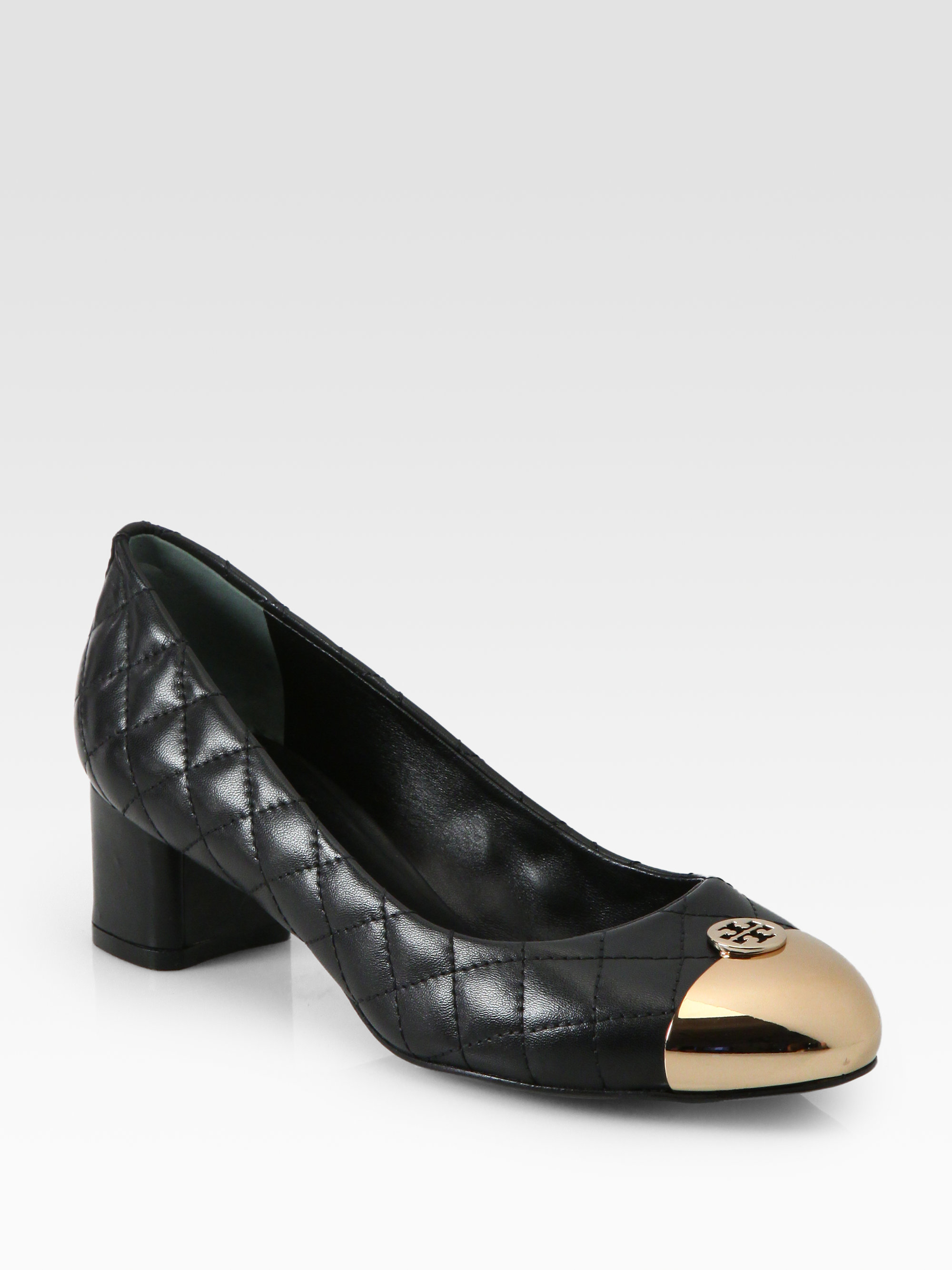 Tory Burch Quilted Leather Pumps cheap 2014 newest zzWzW4Jqyr