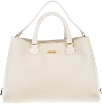 Versace Chain Detail Shopper Tote - Lyst