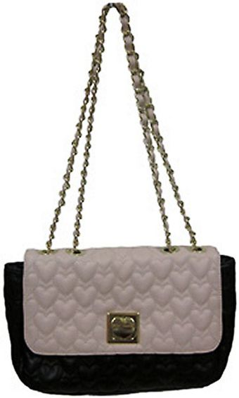 Betsey Johnson Be My One Only Flapover Shoulder Bag - Lyst