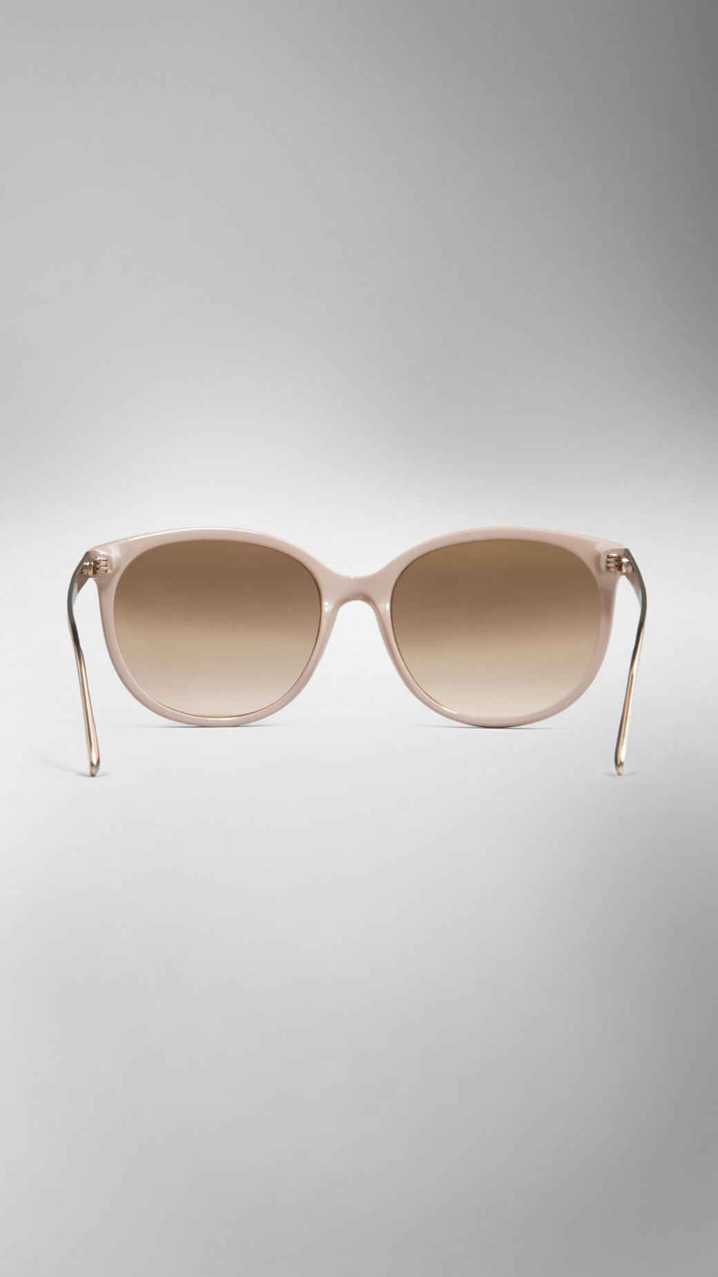 2348d61dd7119 Burberry Spark Cat-Eye Sunglasses in Natural - Lyst