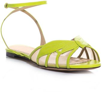 Charlotte Olympia Edith Acid Sandals - Lyst