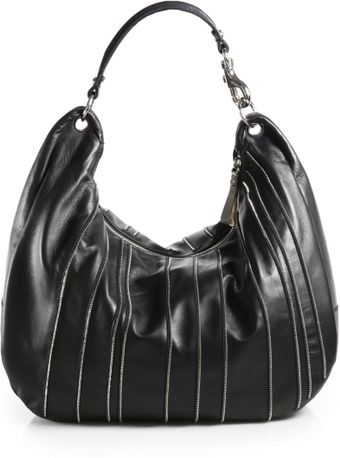 Jimmy Choo Solar Large Zipperdetail Hobo - Lyst