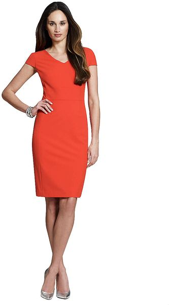 Jones New York Cap Sleeve Sheath Dress - Lyst
