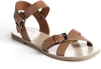 Marc By Marc Jacobs Leather Buckle Sandals - Lyst