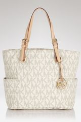 Michael by Michael Kors Tote East West Logo - Lyst